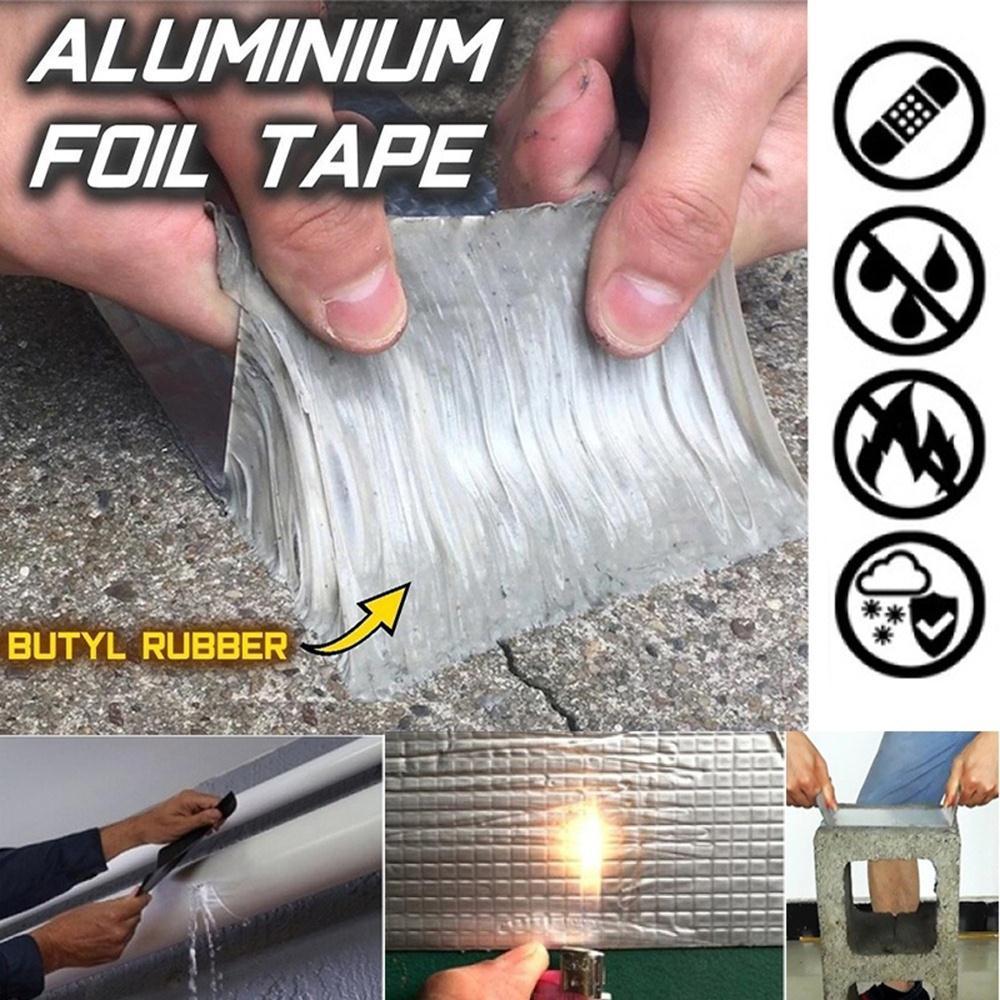 Repair Leakage Bucket Sealing Tape Waterproof Tape Practical Useful Hose Pipe Water Tap Home Tools PVC 10cm*1.5m Black DIY