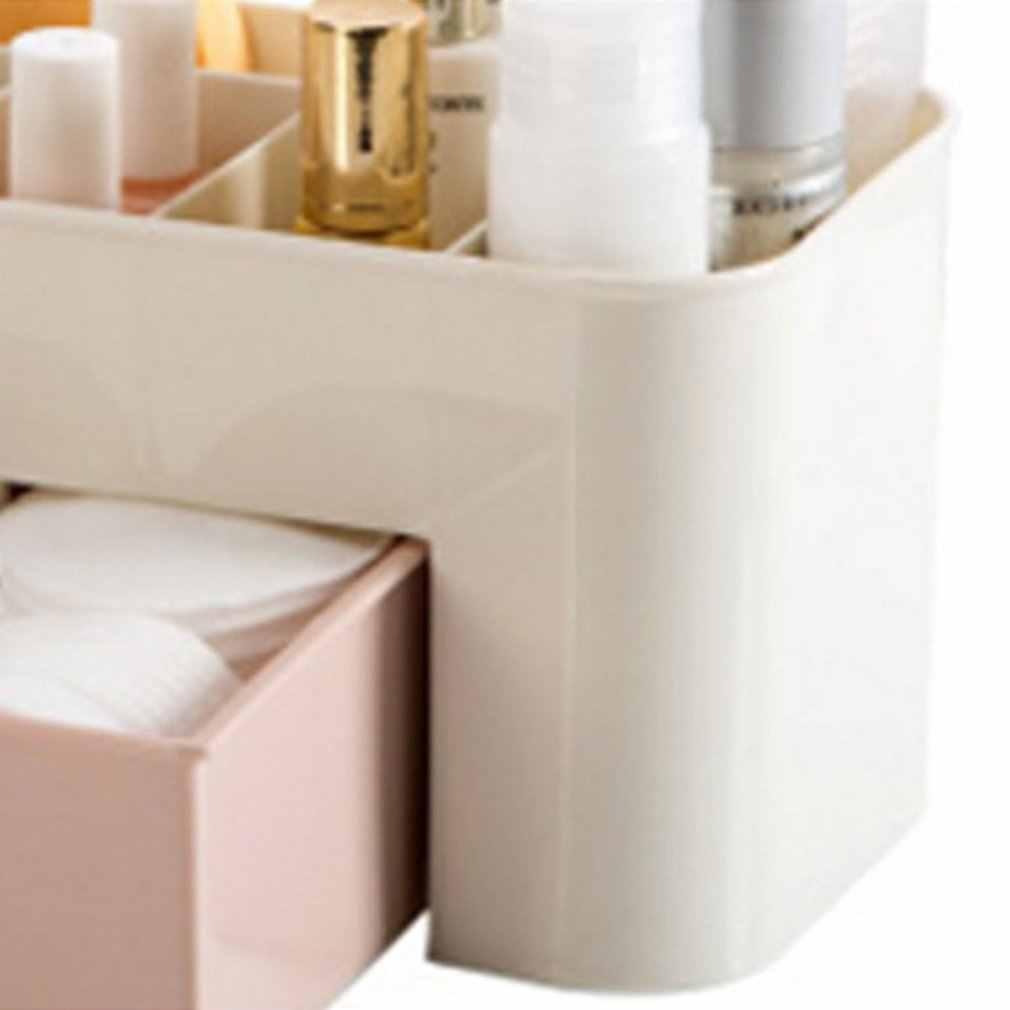 Пластиковый Настольный косметический чехол с маленький ящик бытовой ящик для хранения Многофункциональные ювелирные изделия коробка для хранения