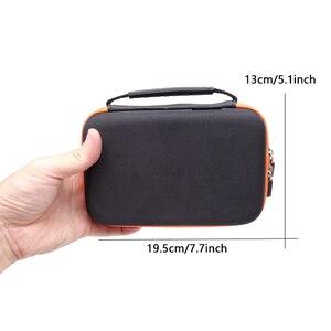 Image 2 - Hard Cover Durchführung Lagerung Taschen für Nintendo Neue 3DS XL 2DS Konsole Zubehör Schutzhülle Pouch Tragbare Zip Fällen Box