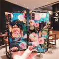 Blue Ray Rose Flower для iphone 11Pro X XR XS Max 8 7 6 Plus, квадратные чехлы для телефонов для samsung Galaxy S9 Note 10 8 9 Plus, чехол - фото