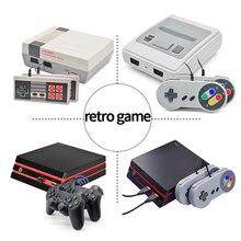 Miniconsola de videojuegos Retro 4K para niños, 620/621 juegos, AV/HDMI, 8 bits, reproductor de juegos portátil, regalo, pk 600