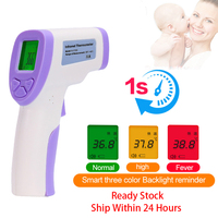 Infrared Forehead Thermometer Gun Non contact Thermometer Digital Temperature Measurement Tool For Adult Baby