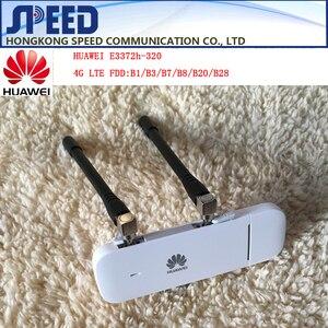 HUAWEI E3372 E3372h-320 150 mb/s 4G LTE USB Modem podwójny Port antenowy obsługuje wszystkie pasma z CRC9antenna
