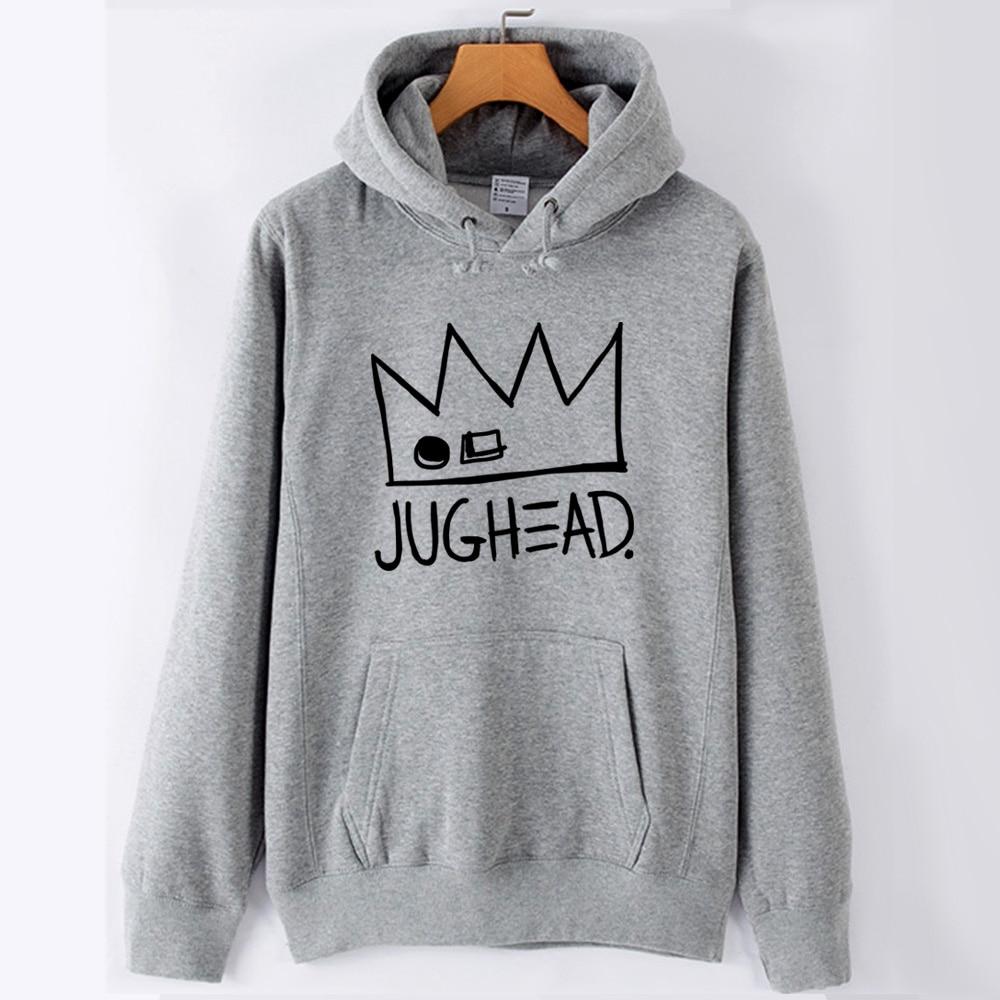 Jughead Jones Crown South Side Serpents Riverdale Girl Woman Hoodie Autumn Winter Fleece Couple Clothes ZIIART 18