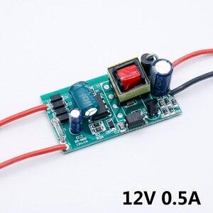 Image 2 - LED נהג 220V כדי 12V 24V אורות 6W 12W 24W 36W 60W 84W 100W 120W עבור LED ספק כוח 12V אור רובוטריקים עבור מעבד מאוורר
