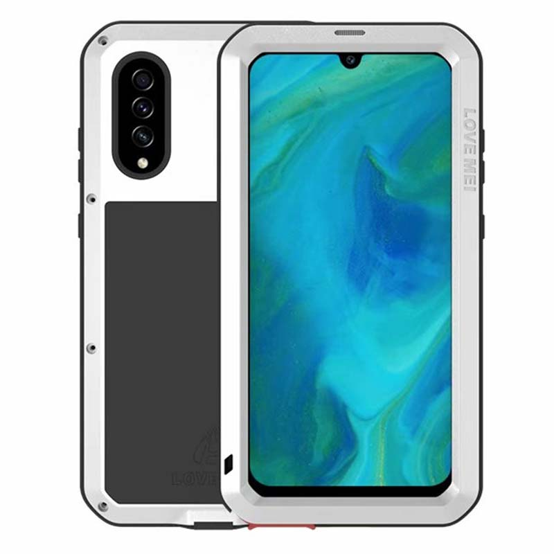 LOVE MEI Shock Dirt Proof Water Resistant Aluminum Metal Armor Cover Phone Case Cover For Samsung Galaxy A70 A70S Coque KS0398