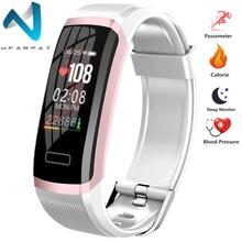 Wearpai  Color Screen Smart Bracelet GT101 Waterproof 24hours Heart Rate Monitor Fitness Tracker Bluetooth Watch for Sport