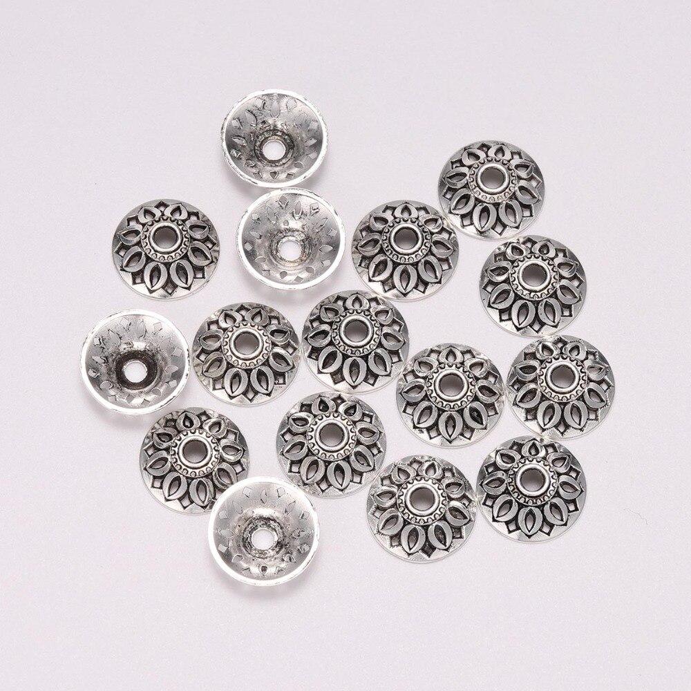 20pcs Tibetan Silver Tone 14 mm Large Bead Cap EF1925