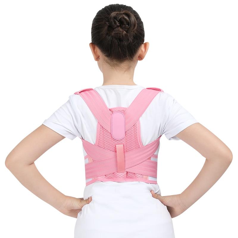 Adjustable Children Posture Corrector Belt with Detachable Shoulder Pad to Develop Good Walking and Sitting Posture 16