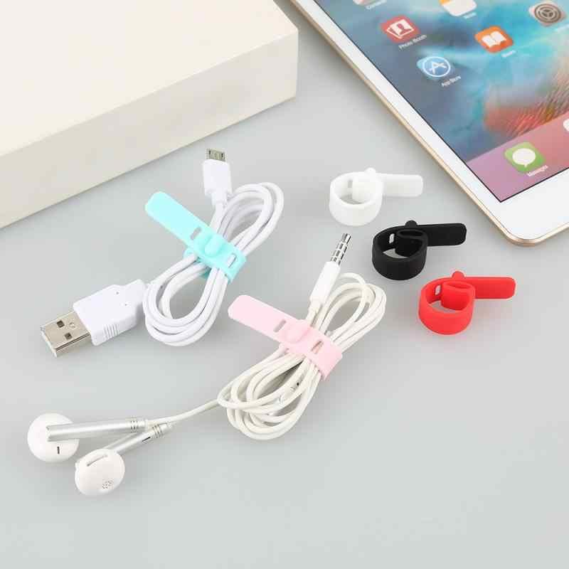 Usb 充電ケーブル iphone x xs 最大 7 8 usb 充電データラインコードプロテクターケースケーブルワインダーサムスンギャラクシー