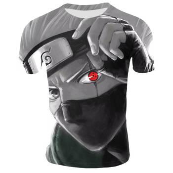 Anime Naruto kakashi tshirt Men Women 3D t-shirt naruto cosplay Sweatshirts naruto kakashi action figure tee shirts Men Tops