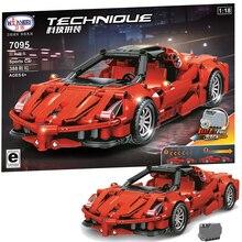 Blocs de construction en briques, modèle classique, créateur de Super voiture, modèle technique, jouet Lepining pour enfants, nouveau