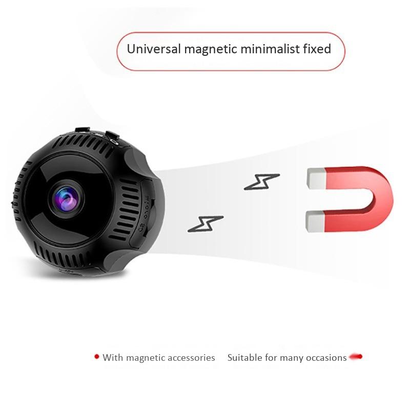 4K HD WiFi Mini Camera Smart Watch 1080P IR Night Vision Video Recorder Mini Camcorder Motion Detection Micro-Cam Smart Bracelet 6