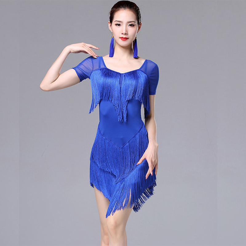 Tassel Latin Dance For Woman Latin Dance Dress For Women International Standard Ballroom Cha Cha Salsa Latin Dancing Dress