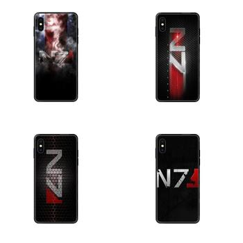 For Huawei P40 P30 P20 P10 P9 P8 Lite Plus Pro 2017 P Smart 2019 TPU New Style Unique Greatest Mass Effect N7 Armour image