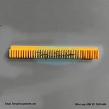 H2106211  H2106212 Escalator Plastic Demarcation Yellow