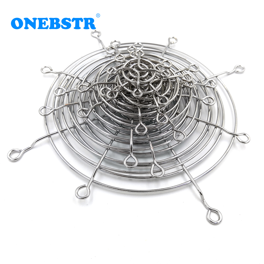 CPU Cooling Fan Cover Iron Net 3cm 4cm 5cm 6cm 7cm 8cm 9cm 11cm 12cm 14cm 15cm 17cm 18cm 20cm 25cmComputer Chassis Free Shipping