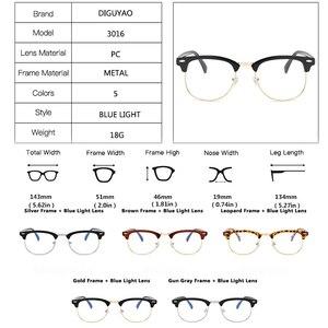 Image 4 - DIGUYAO Brand Male blocking glasses optical Eye filter Women anti blue computer glasses TV gaming Eyewear Men anti blue glasses