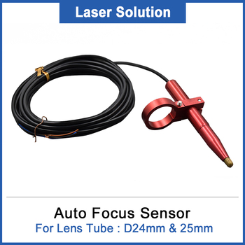 cloudray auto focus focusing sensor z axis for automatic motorized up down table co2 laser engraving cutting machine DRAGON DIAMOND Auto Focus Focusing Sensor Z-Axis for Automatic Motorized Up Down Table For Lens Tube : D24mm & 25mm