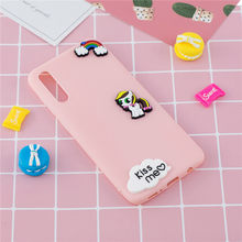 Soft TPU Case For Xiaomi Mi 9 SE 9T Pro Kawaii 3D Cartoon Flower Cactus Phone Back Cover For Xiaomi Note 10 Pro Case Capa(China)