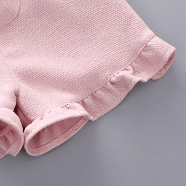 комплект летней одежды для девочек; футболка одежда малышей; фотография