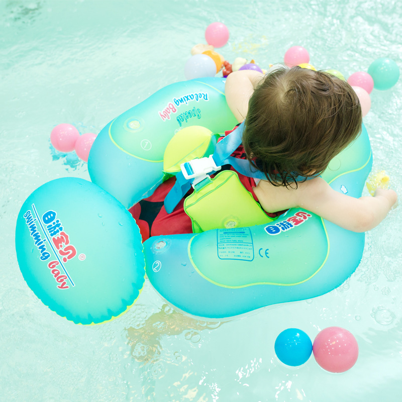 Baby Swimming Ring Inflatable Floating Ring Kids Swim Pool Bathtub Circle Infant Bathing Rings Water Toy