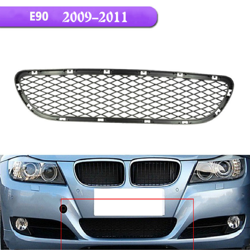Suitable For 09 11 BMW 3 series E90 E91 Bumper Grille Lower Middle Grilles OEM: 5117198906|Racing Grills| |  - title=