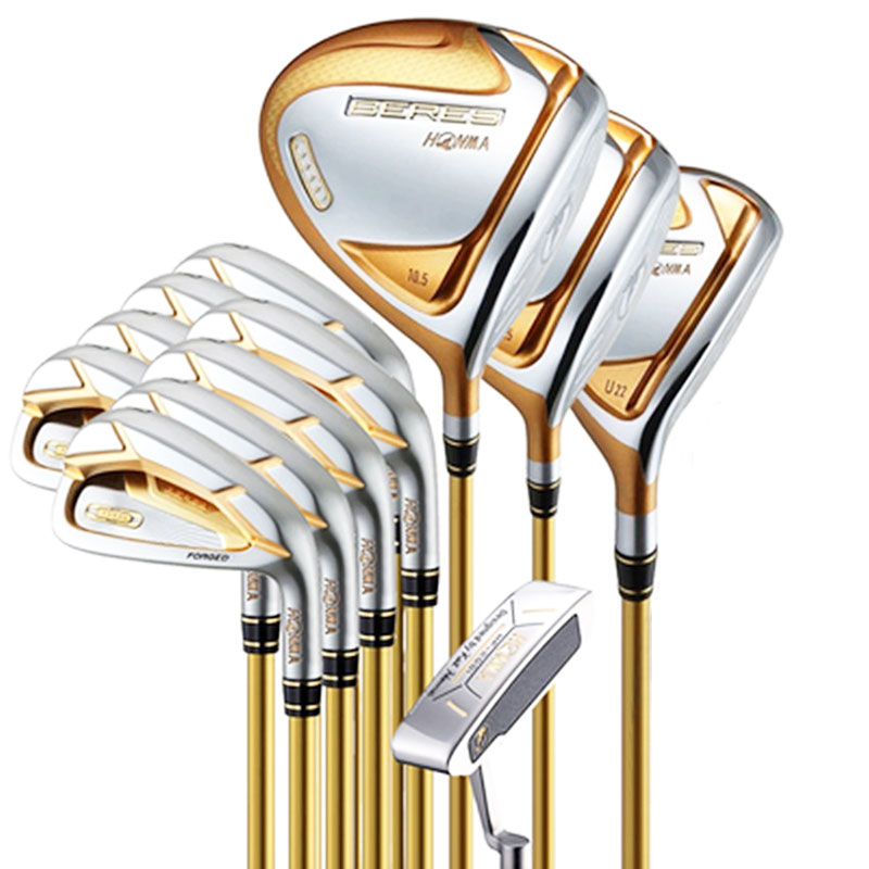 New Golf club HONMA S-07 4 star Golf complete clubs Driver+fairway wood+irons+putter graphite shaft cover freeshipping