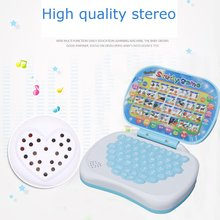 Multifunction Educational Learning Machine English Early Tablet Computer Toy Kid Interactive Toy Training цена