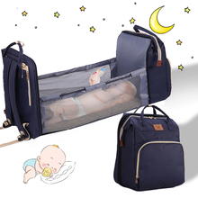 Newest Baby Diaper Bag Bed Backpack For Mom Maternity Bag For Stroller Nappy Bag Multifunction Large Capacity Bag For Baby Care