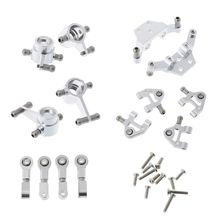Steering Cup Swing Arm Shock Absorber Set for Wltoys 1/28 RC Car Spare Parts R7RB стоимость
