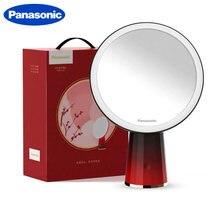 Зеркало для макияжа panasonic со светодиодсветильник кой вращающееся