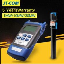лучшая цена 2 In1 FTTH Fiber Optic Tool Kit Fiber Optical Power Meter -70 + 3dBm and 5km 1mW Visual Fault Locator Fiber optic test pen