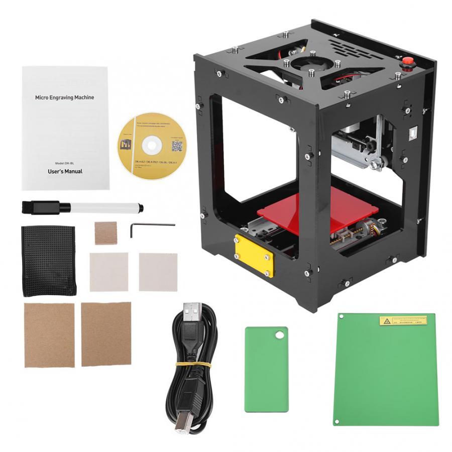 Laser Engraver Printer Machine 550*550 Pixel High Resolution For PC Pad Phone