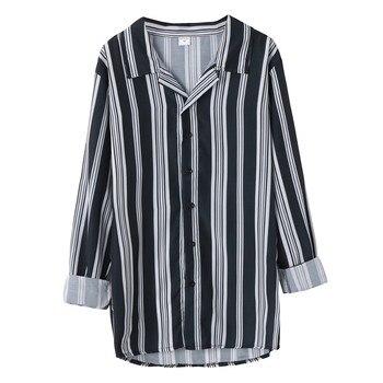 Ανδρικό μακρυμάνικο ριγέ πουκάμισο