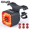 GIYO Смарт велосипедный светильник задний светильник велосипед аксессуары Автоматическое включение/Off USB Перезаряжаемые стоп-сигнал тормозн...