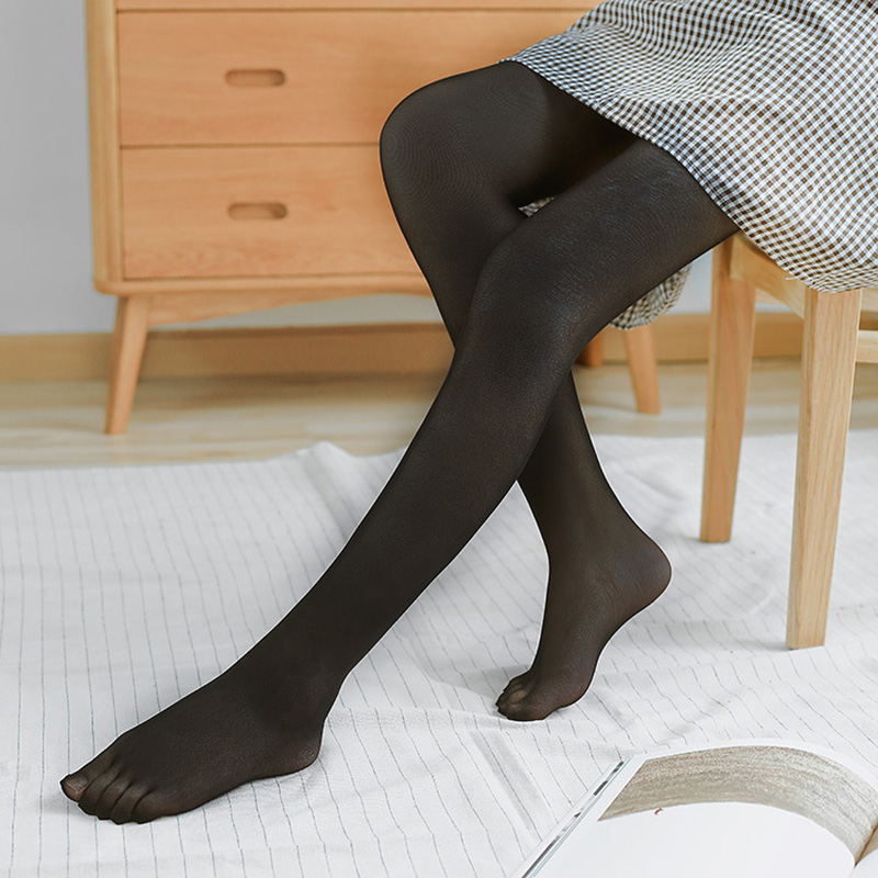 Women Sexy Seamless Five Toe Abdomen Drawing Butt-lifting Five Fingers Stockings Pantyhose 3 Colors