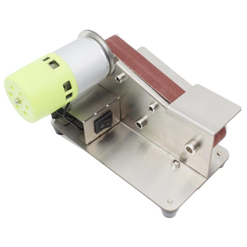 15 Degree Sander Belt Machine 150W Electric Belt Sander Polishing Grinder Sander Grinding Tool Cutter Edges Sharpener