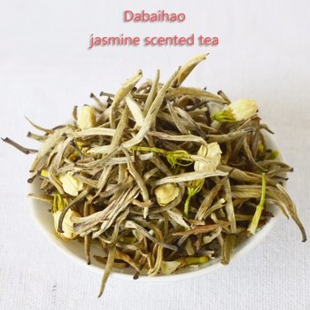 Jasmine tea 250g sealed pocket jasmine silver needle Jasmine big white aroma Jasmine White Silver Needle 250g фото
