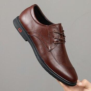 Zapatos de seguridad, zapatos de piel para hombre, zapatos de cuero para...