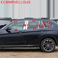 자동차 창 바디 자동차 크롬 수정 된 장식 자동차 스타일링 액세서리 프로텍터 장식 18 19 BMW X1 시리즈|크로뮴 스타일링|자동차 및 오토바이 -