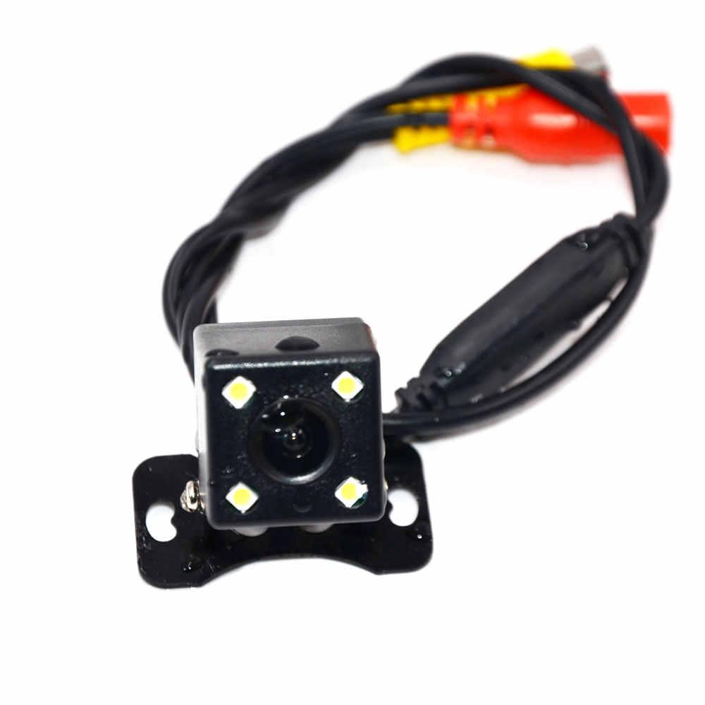 BYNCG 車のリアビューカメラ 4 Led ナイトビジョンオートパーキングモニター CCD 防水 170 度 HD ビデオ