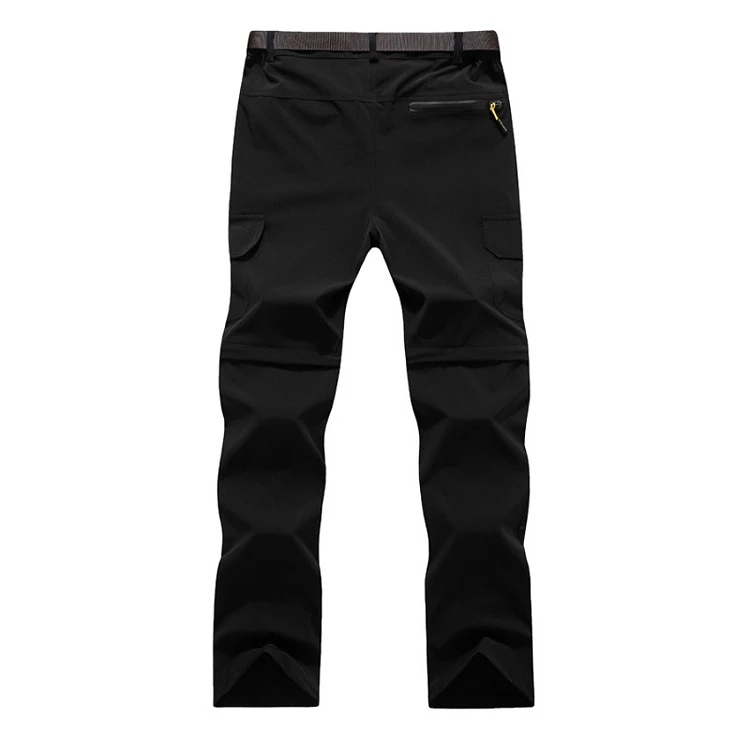 Mountainskin <font><b>6XL</b></font> <font><b>Men's</b></font> Summer Quick Dry Removable Pants Outdoor Sport Trousers Hiking Trekking Fishing Camping Male Shorts image