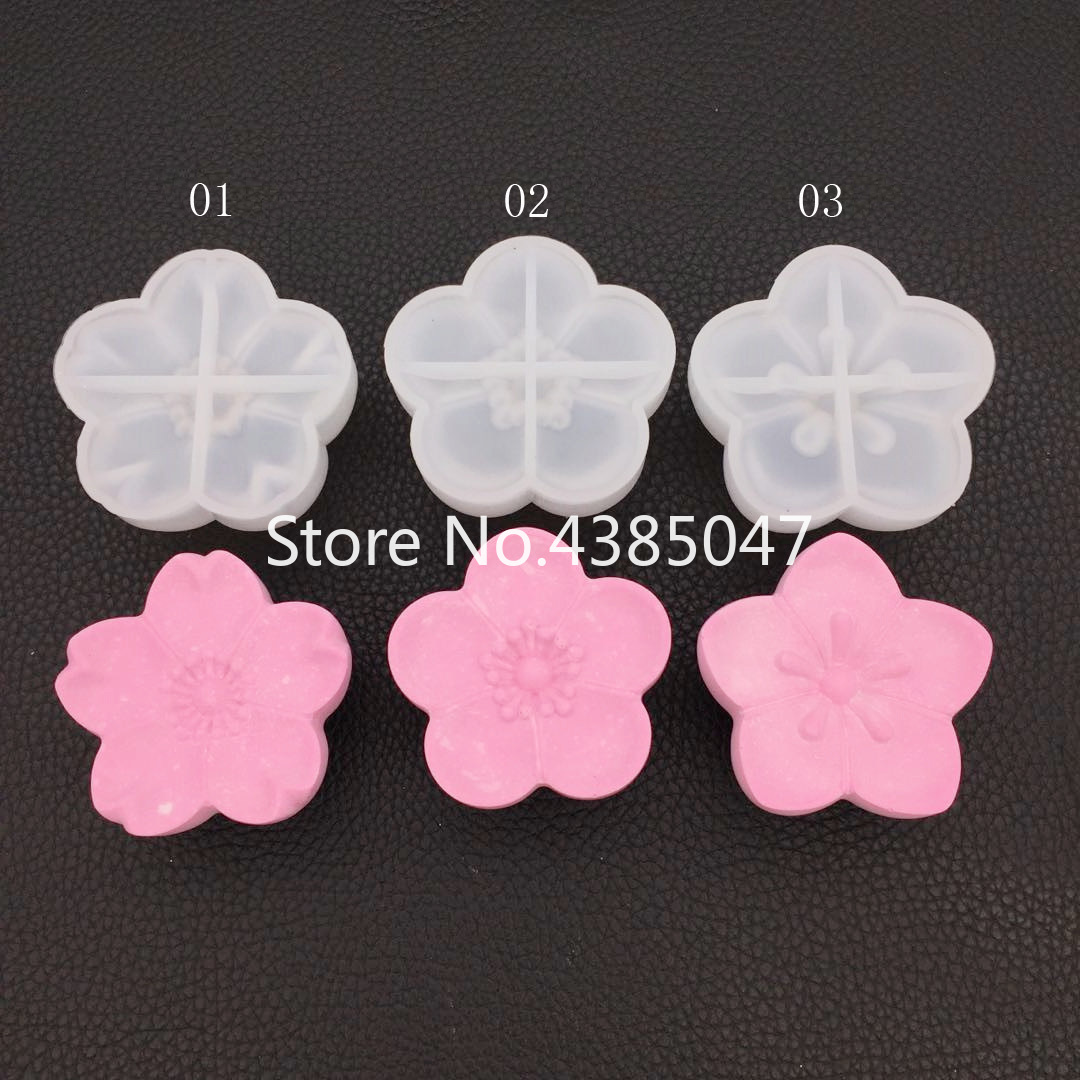 1PC Cherry Blossoms DIY Necklace Jewelry Mold Pendants Crystal Scale Jewelry Resin Molds For Jewelry Making Tool