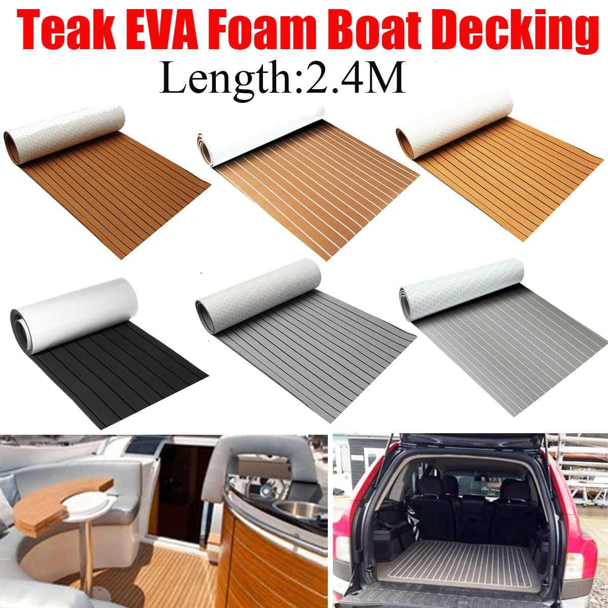 8 estilos auto adesiva de espuma eva espuma barco decks de teca piso falso barco marine