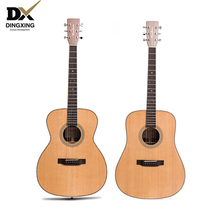Acoustic guitar All Solid wood Spruce top Professional 41 inch musical Stringed instruments steel string handmade guitarra china acoustic guitar 39 inch 6 string guitar missing angle black rosewood fingerboard edge musical instruments professional