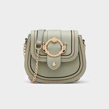 все цены на 2019 New Messenger Bag Crossbody Bags For Women Chain Shoulder Bags Female Fashion Designer High Quality Flap Versatile онлайн