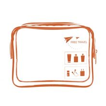 Portable Transparent Travel Cosmetic Bag Makeup Case Pouch Toiletry Zip Wash Toiletry Organizer fresh fashion portable flowers travel cosmetic bag pencil makeup case pouch women toiletry wash organizer bag female coin bags