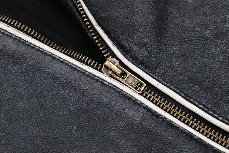 Hc2a25a93d975452cbe4c6f78904cde45l 2019 Vintage Black Men Leather Motorcyclist Jacket Skull Embroidery Plus Size 3XL Genuine Cowhide Short Biker Coat FREE SHIPPING