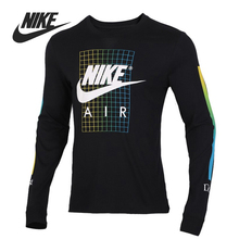 Original New Arrival NIKE M NSW TEE LS SNKR CLTR 6 Men's T-shirts Long sleeve Sp